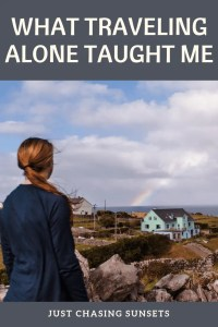 what traveling alone taught me