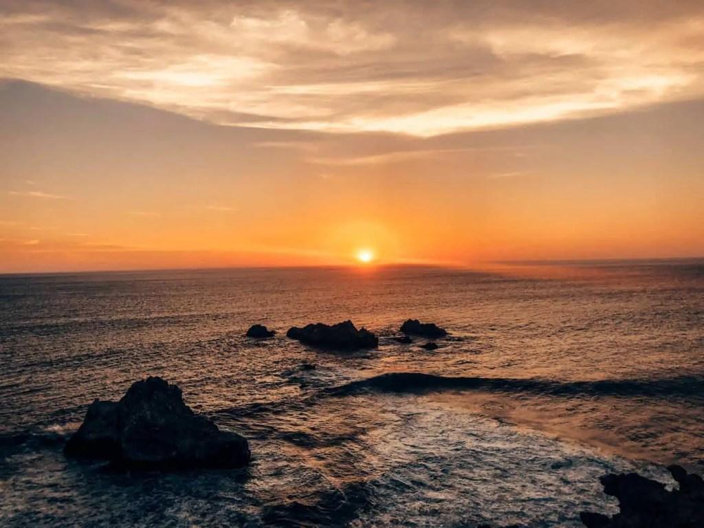 Paracas National Reserve Sunset