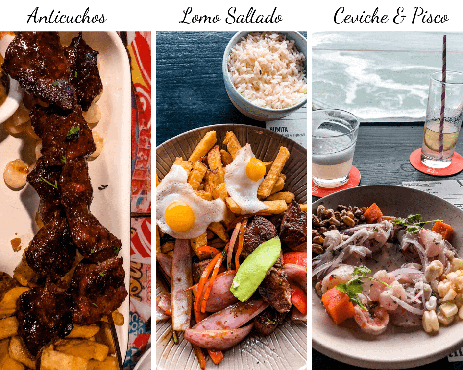 What to eat in Lima Peru