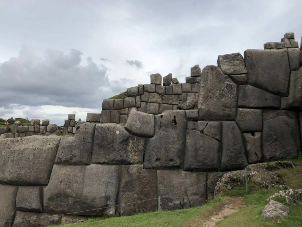 The stones of Saqsaywaman