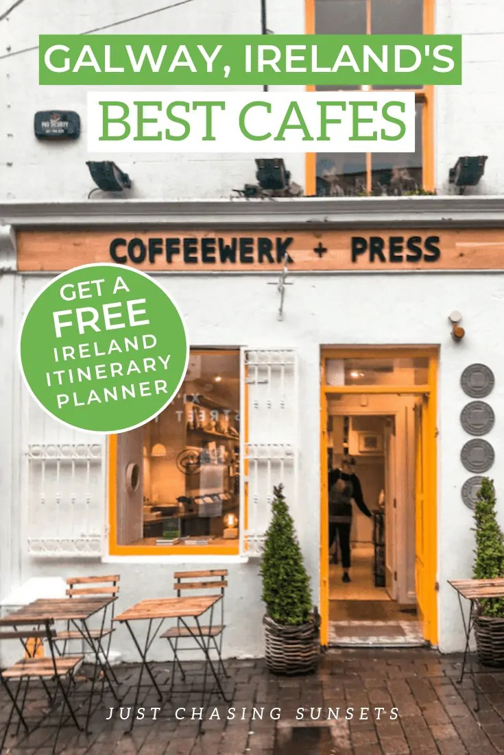 The best cafes to visit in Galway, Ireland.