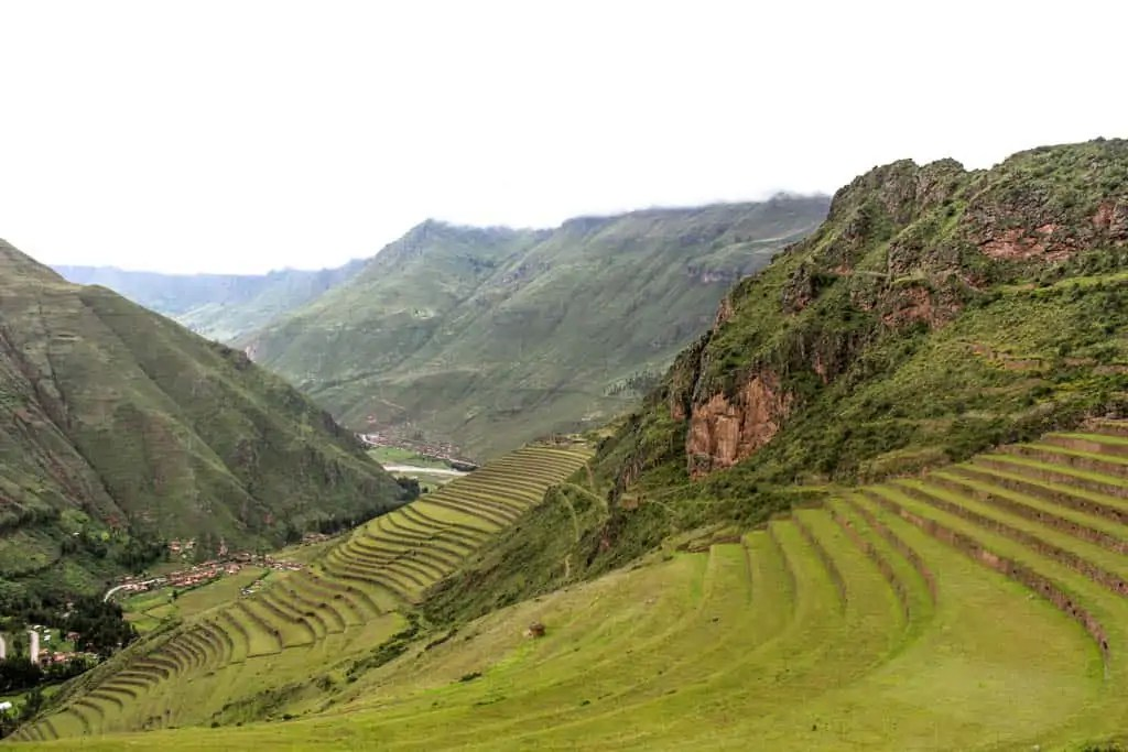 The agricultural terraces of Pisaq