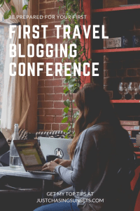 prepare for your first travel blogging conference