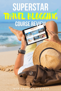 Superstar travel blogging course review. What you need to know before you invest!