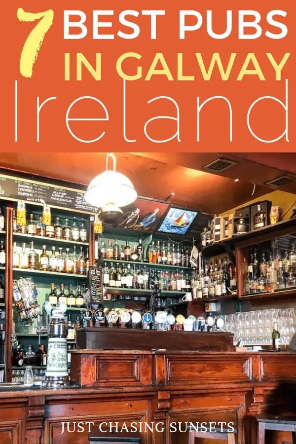 Best pubs in Galway Ireland