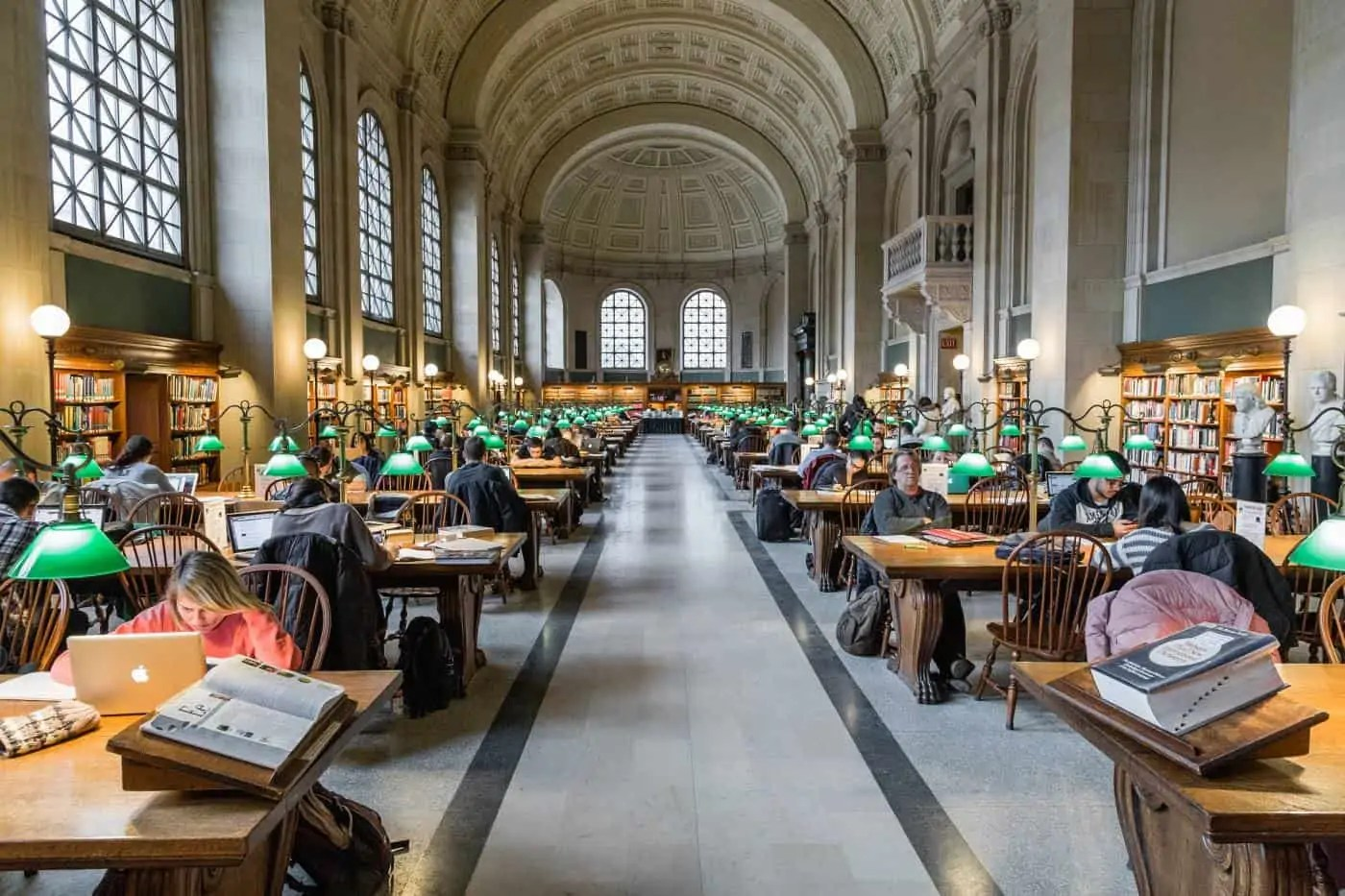 One day in Boston must include a visit to the Boston Public Library