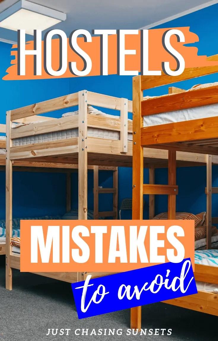 hostel mistakes to avoid