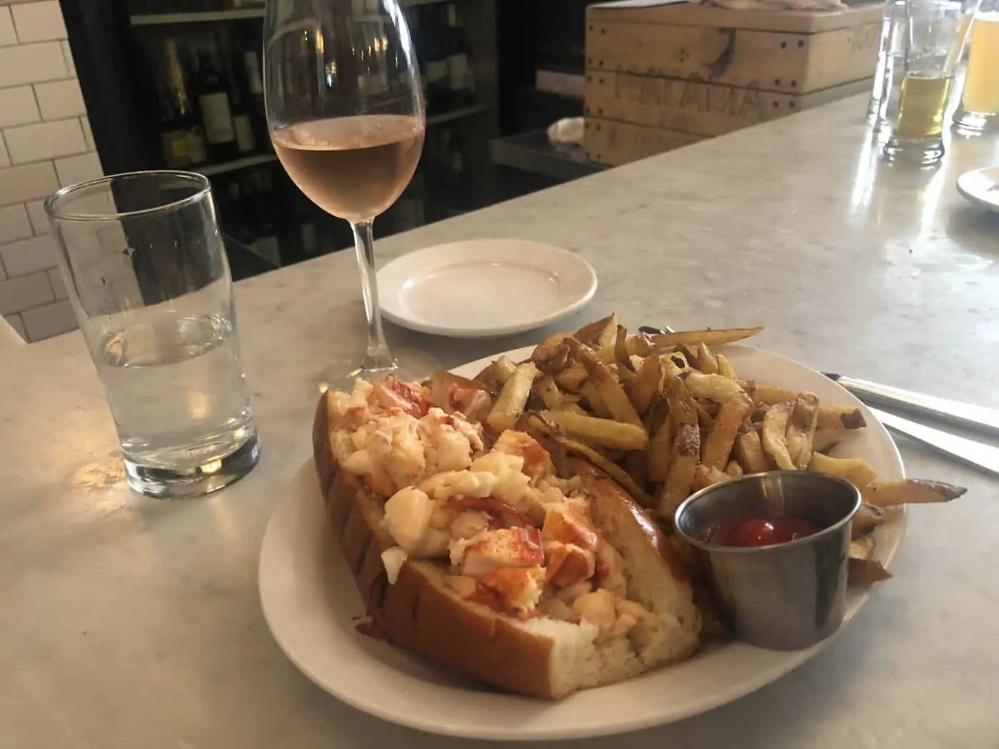 Get the Lobster Roll from Neptunes Oyster during your 24 hours in Boston