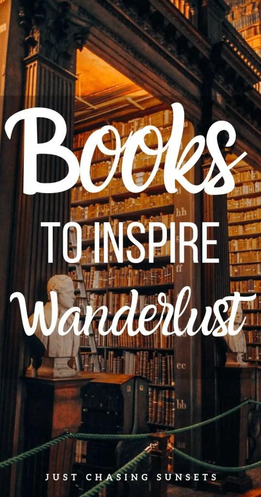 Wanderlust inspiring books