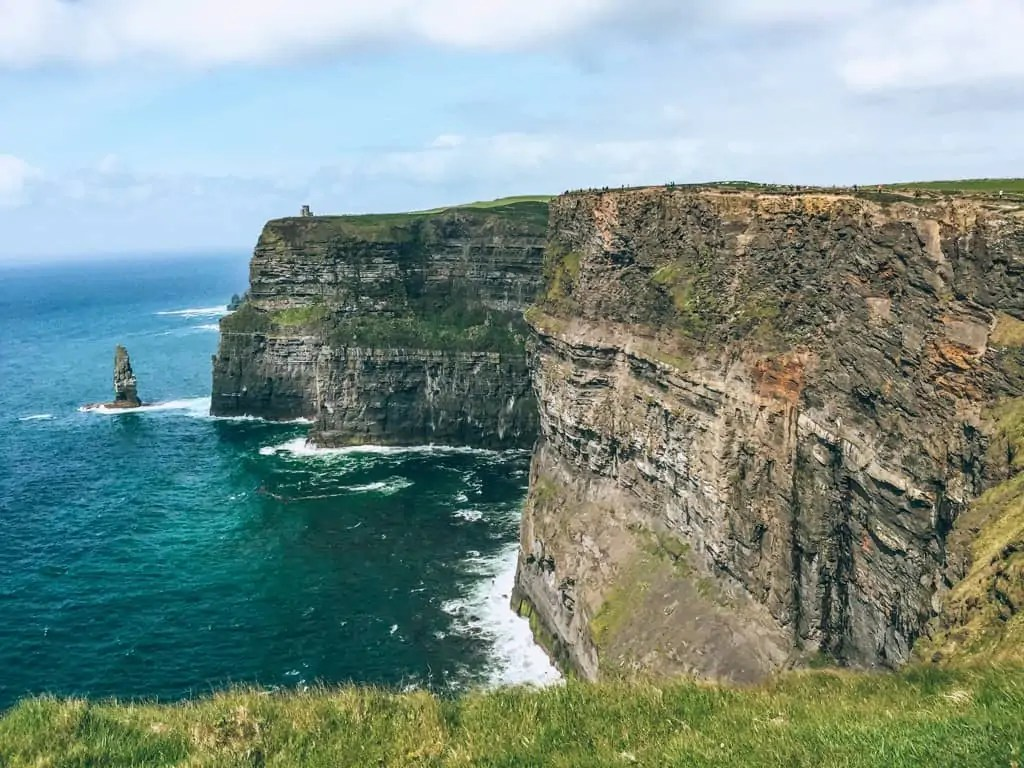 Cliff of Moher on a clear day