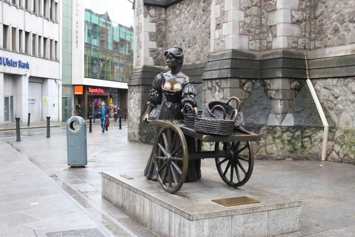 Molly Malone Statue in Dublin, Ireland | c/o Deposit Photos