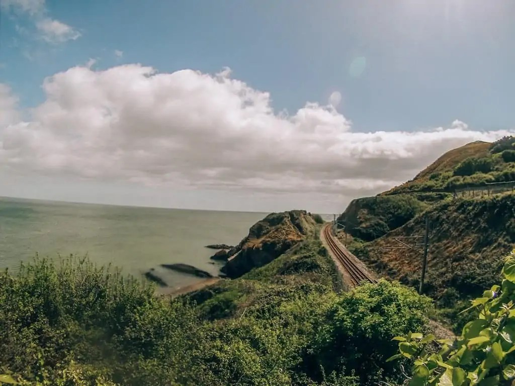 Following the Coastal path from Bray to Graystones