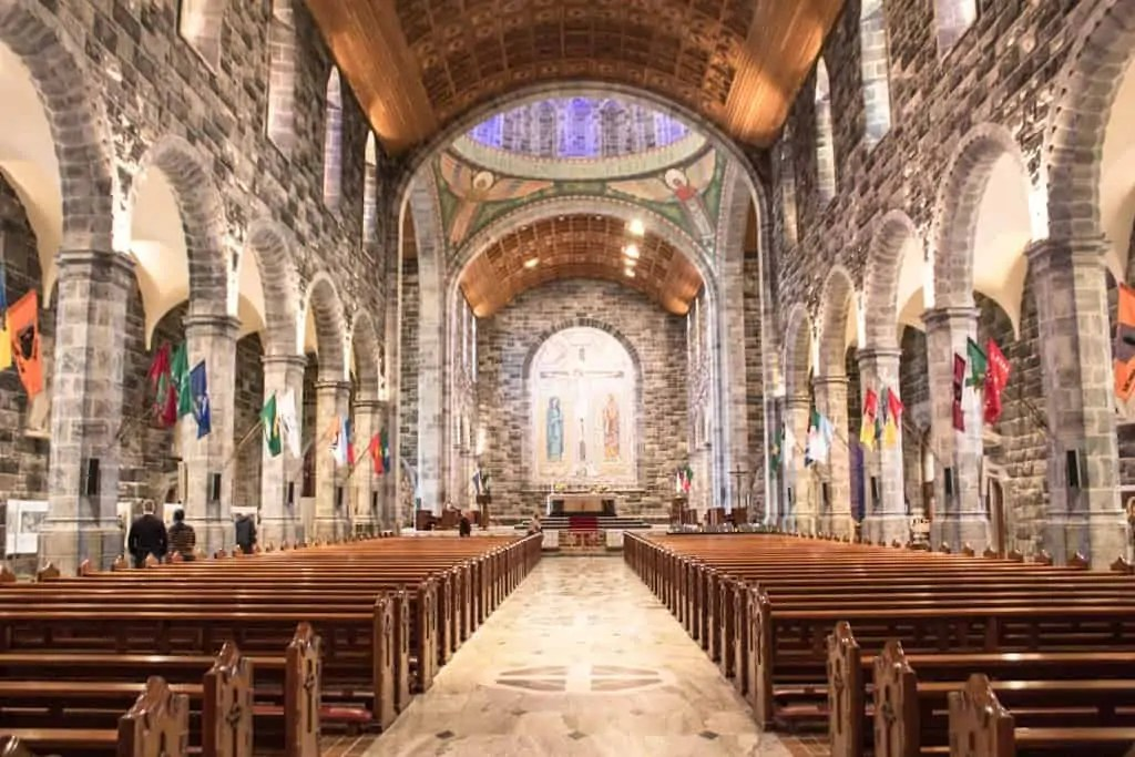 The interior of Galway cathedral