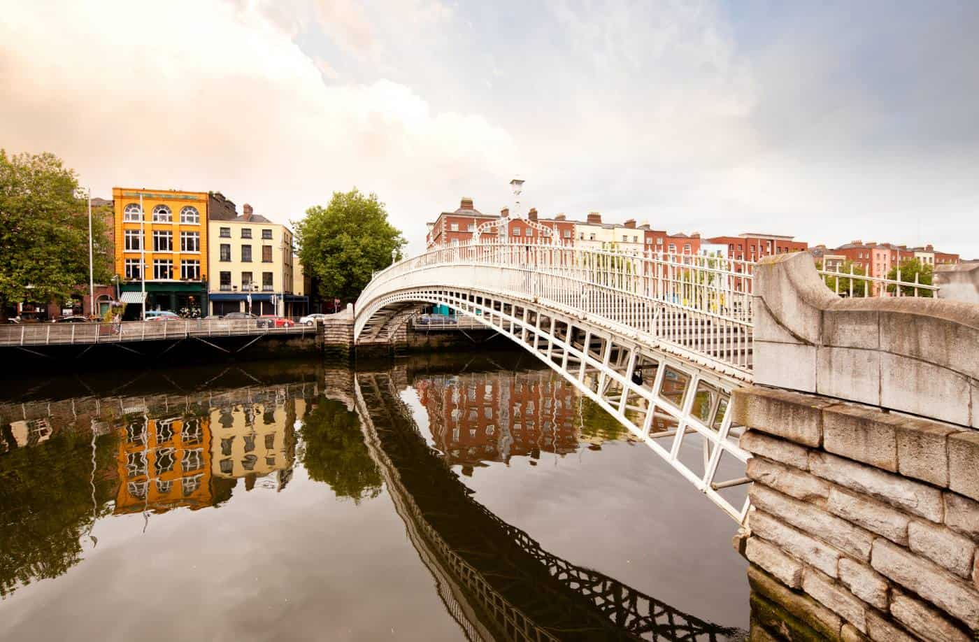 Cross the Ha'penny Bridge to the Winding Stair Bookshop