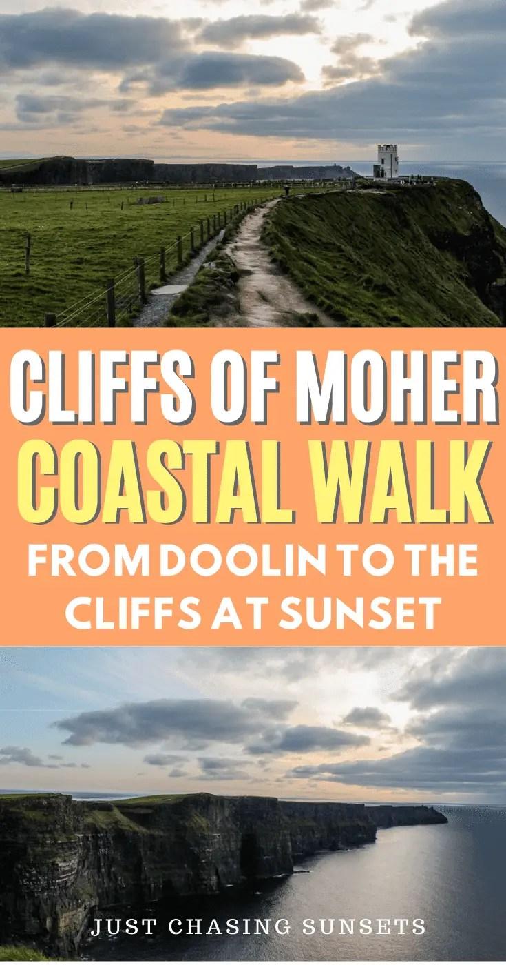 Cliffs of Moher coastal walk
