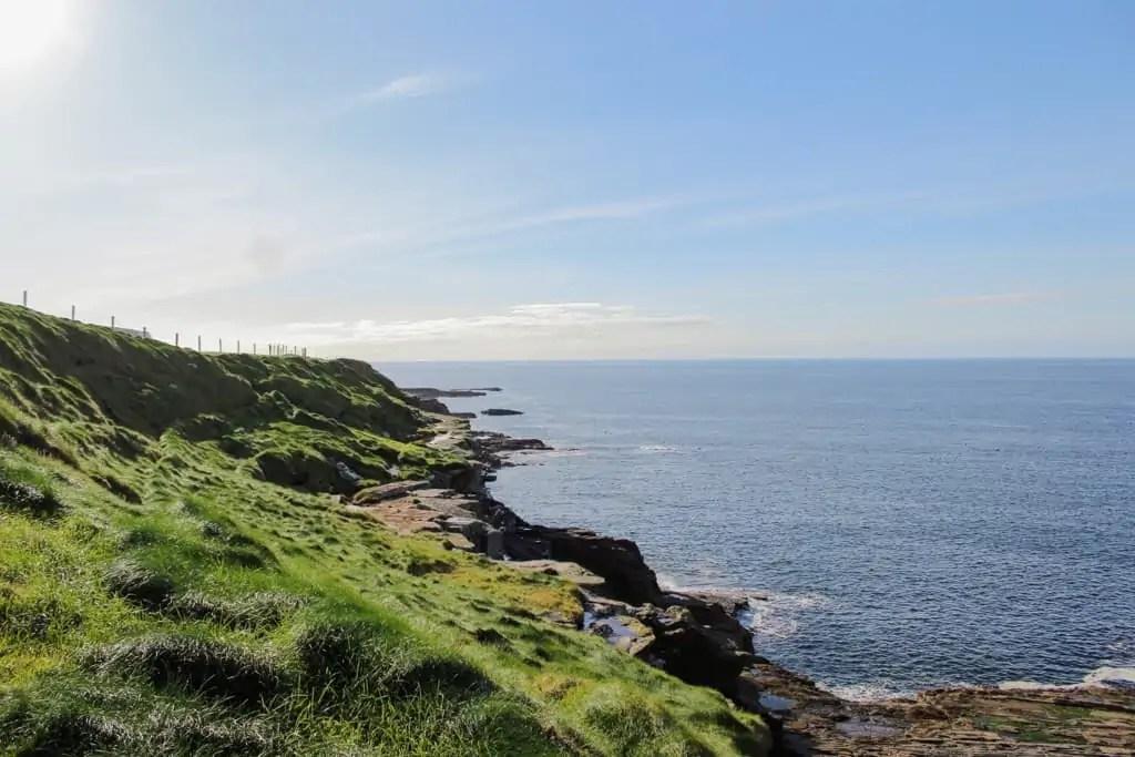 Coastal Views on the Coastal Walk to the Cliffs of Moher