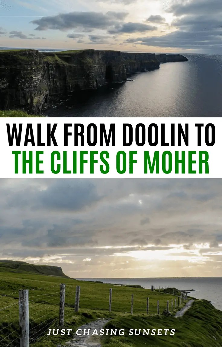 walk from Doolin to the Cliffs of Moher
