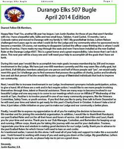 april 2014Buglemail