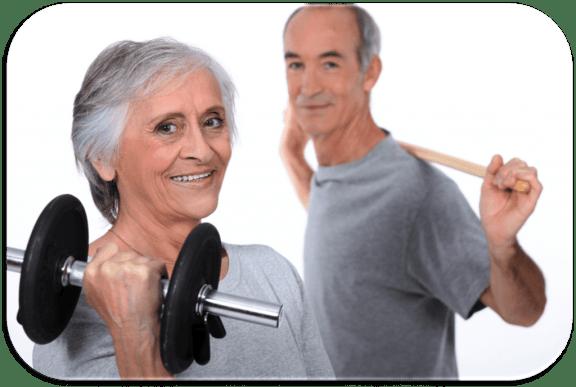 entrainement sportif pour les personnes agées
