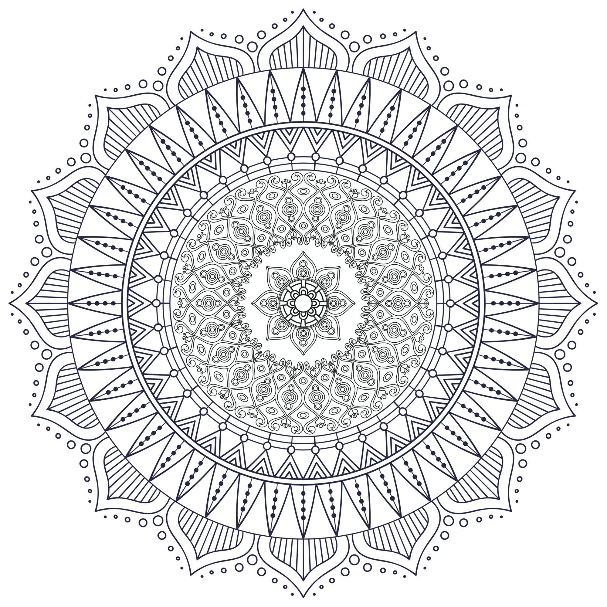 Mandala Zen Antistress 7