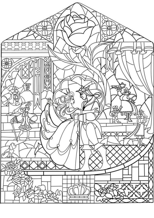 Prince princesse art nouveau style - Retour en enfance
