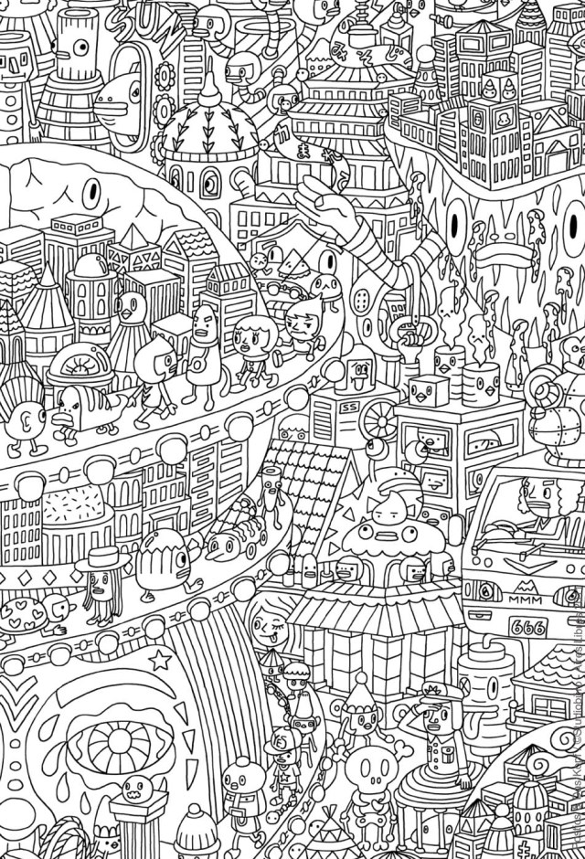 To color for children - Adult Kids Coloring Pages