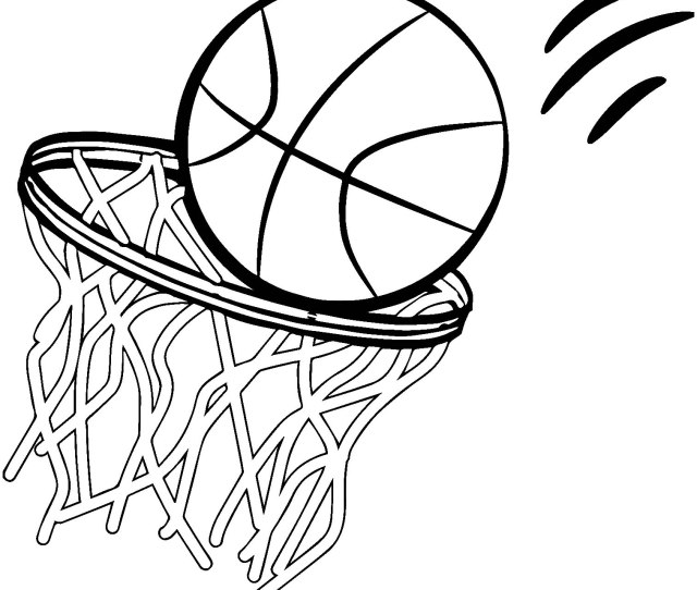 Basketball For Kids Basketball Kids Coloring Pages