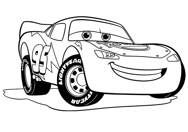 Cars 300 to print for free - Cars 300 Kids Coloring Pages