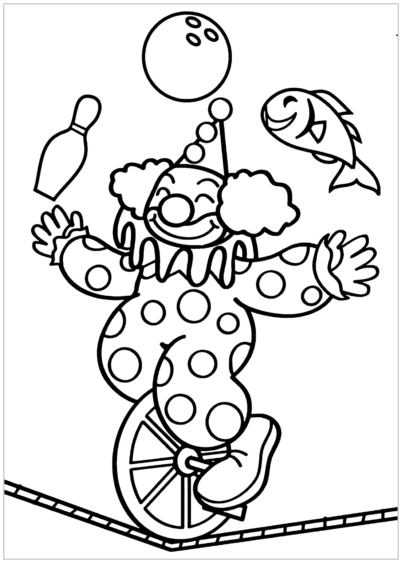 Circus To Print Circus Kids Coloring Pages