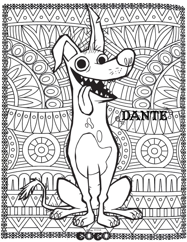 Coco to download - Coco Kids Coloring Pages