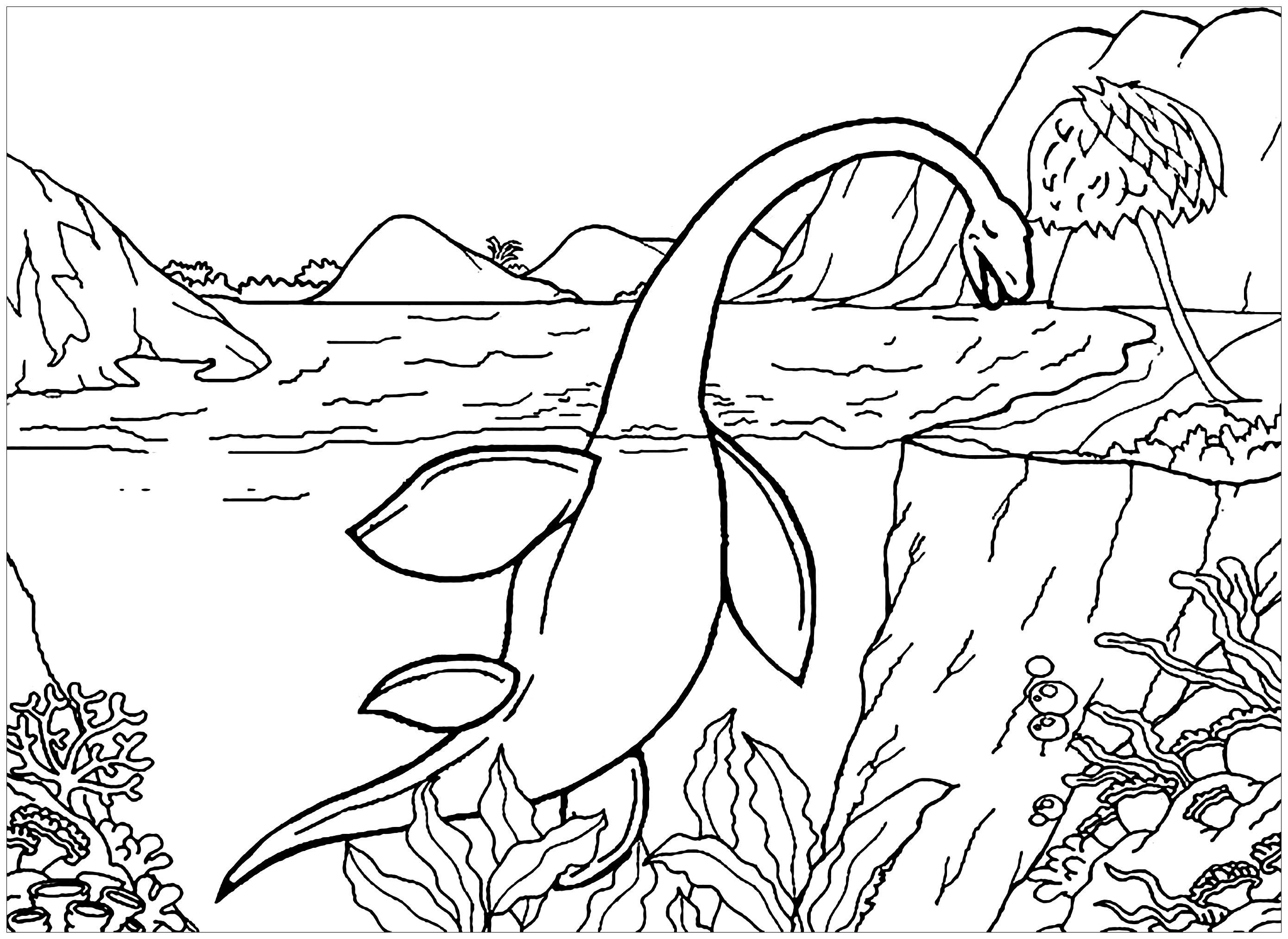 Dinosaurs To Download Aquatic Dinosaur