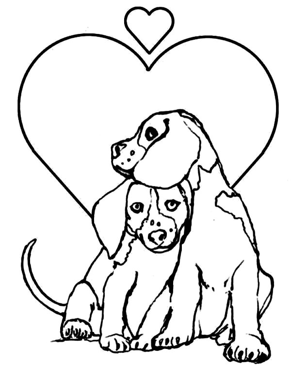 dog coloring pages printable # 1