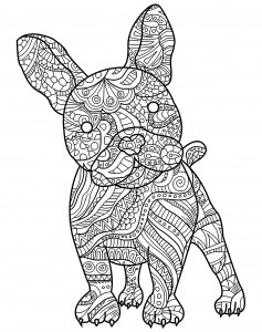 dog printable coloring pages # 20