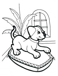 dog printable coloring pages # 69