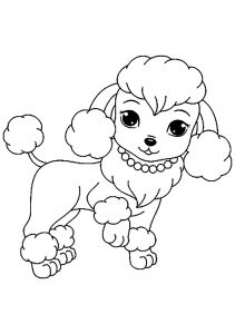 free dog coloring pages # 14