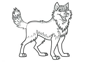 dog printable coloring pages # 7