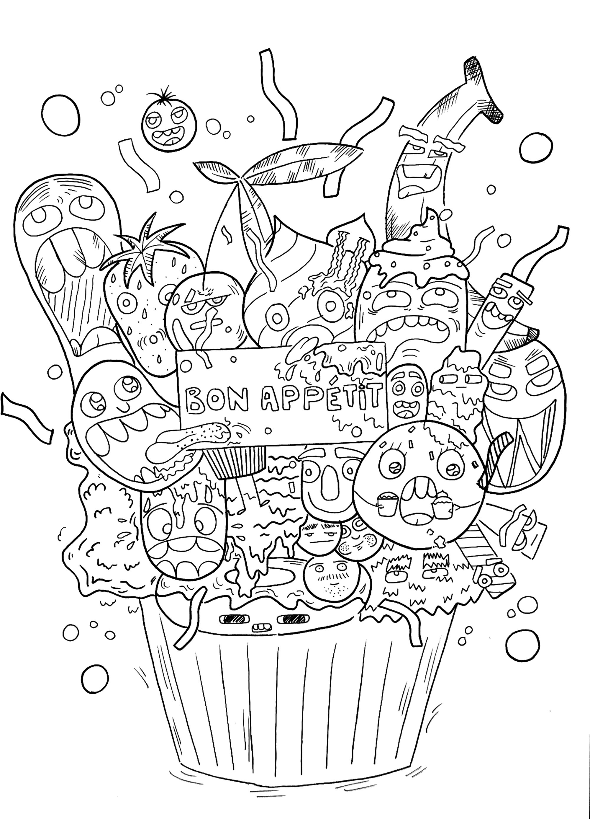 Doodle Art To Print