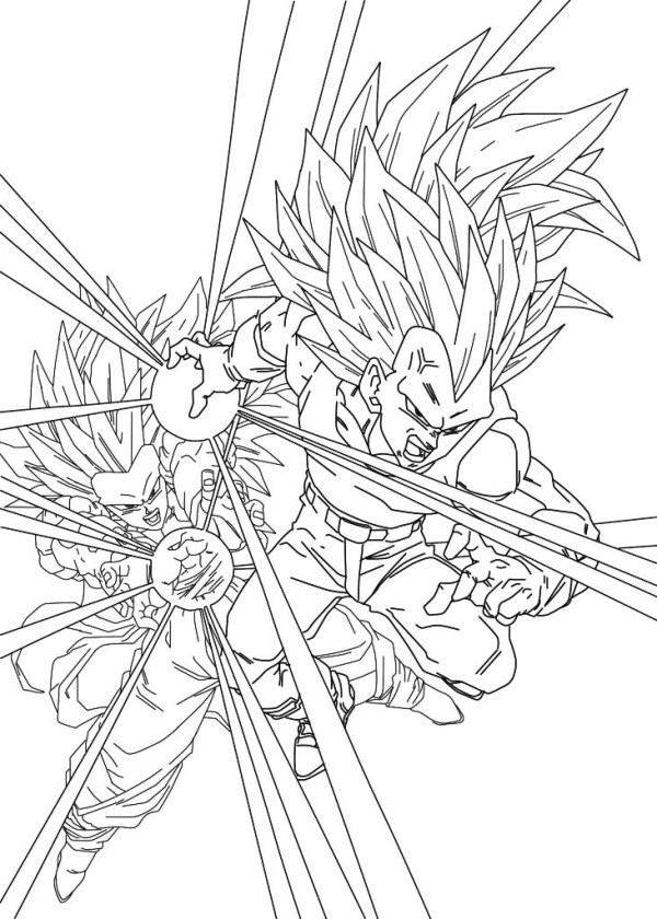 dragon ball gt coloring pages # 6