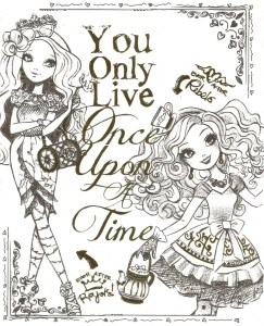 Ever After High Free Printable Coloring Pages For Kids