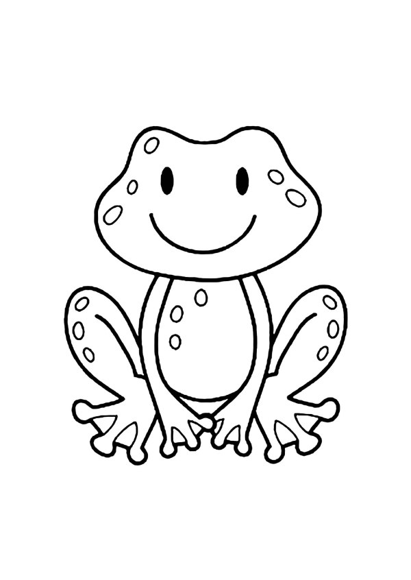 frogs coloring pages # 14