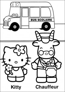 hello kitty free coloring pages # 48