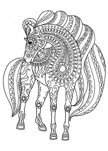 free detailed coloring pages # 38