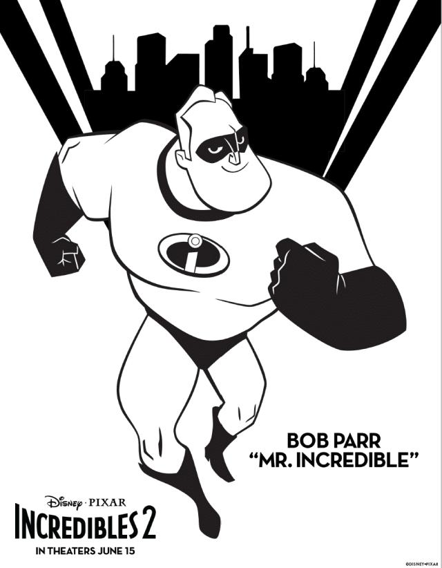 "Incredibles 211 : Bob Parr ""Mr. Incredible"" - The Incredibles 211 Kids"