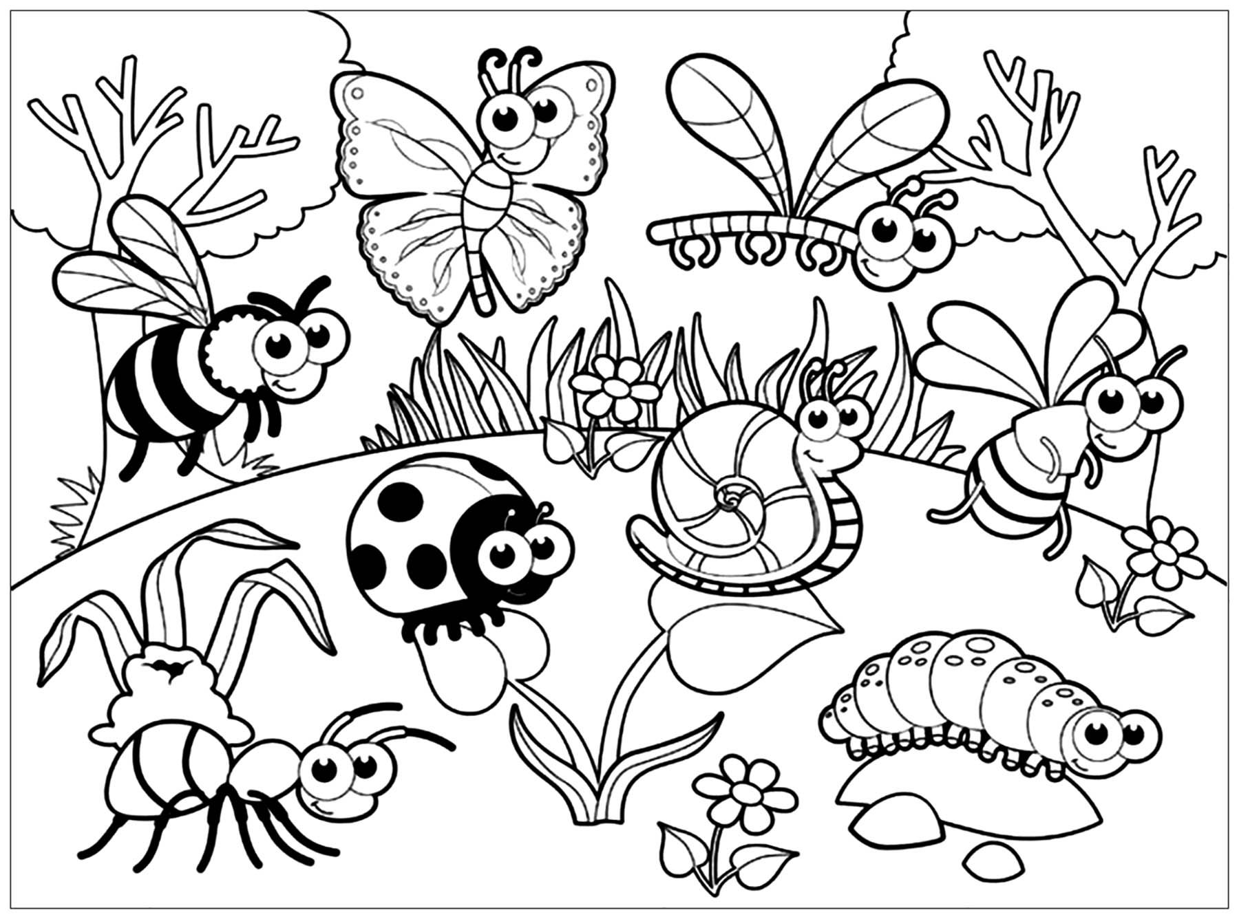 Insects To Print