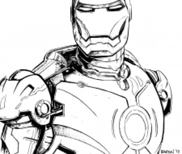 Iron Man Free Printable Coloring Pages For Kids