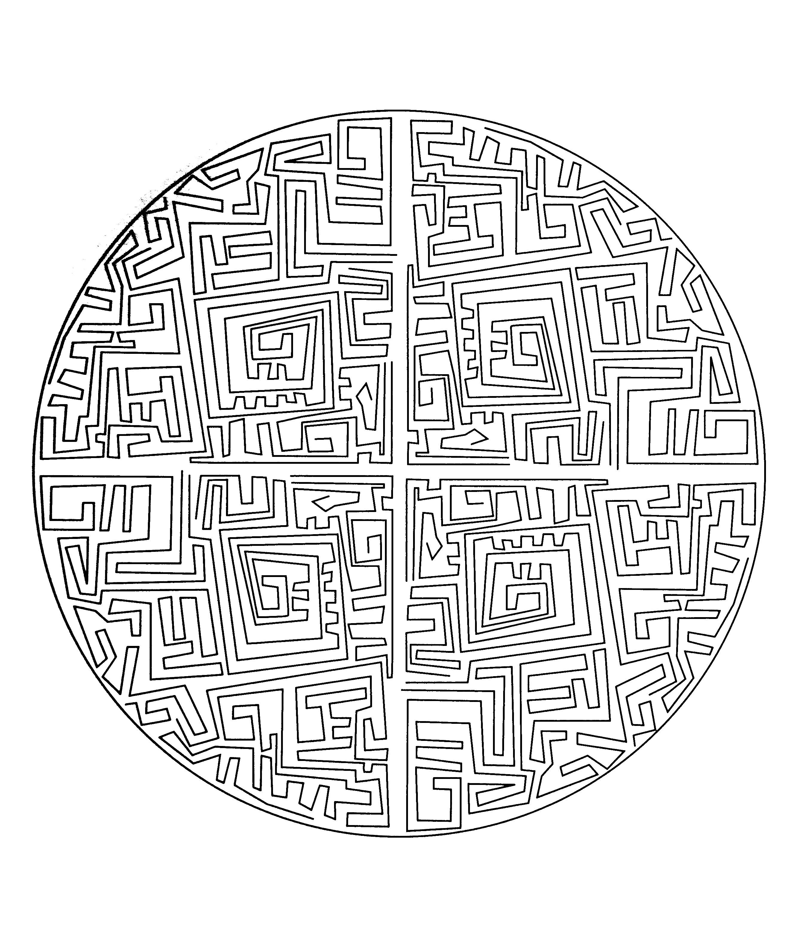 Mandalas To Print