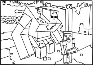 minecraft color page # 5