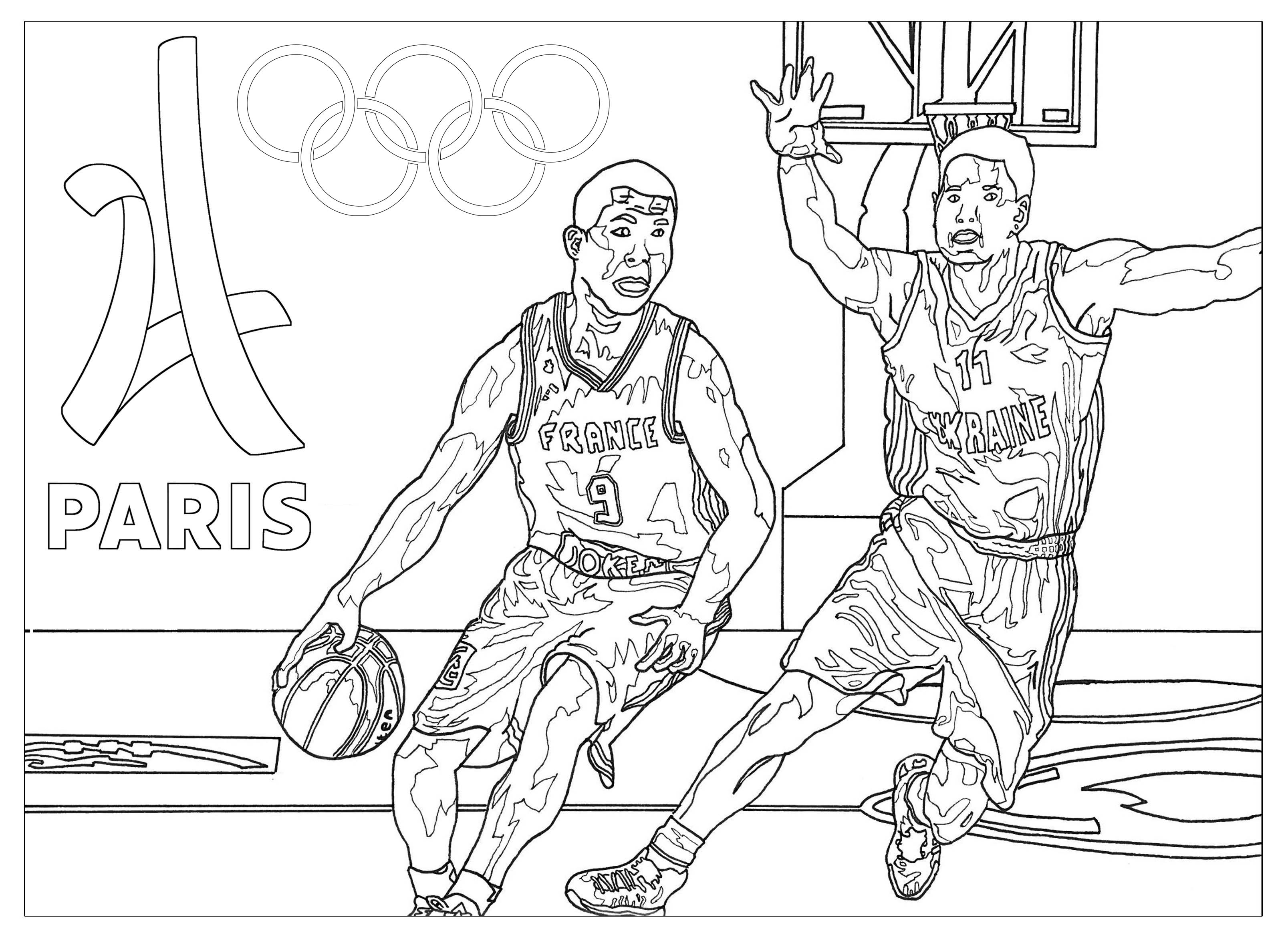 Olympic Games Free To Color For Kids