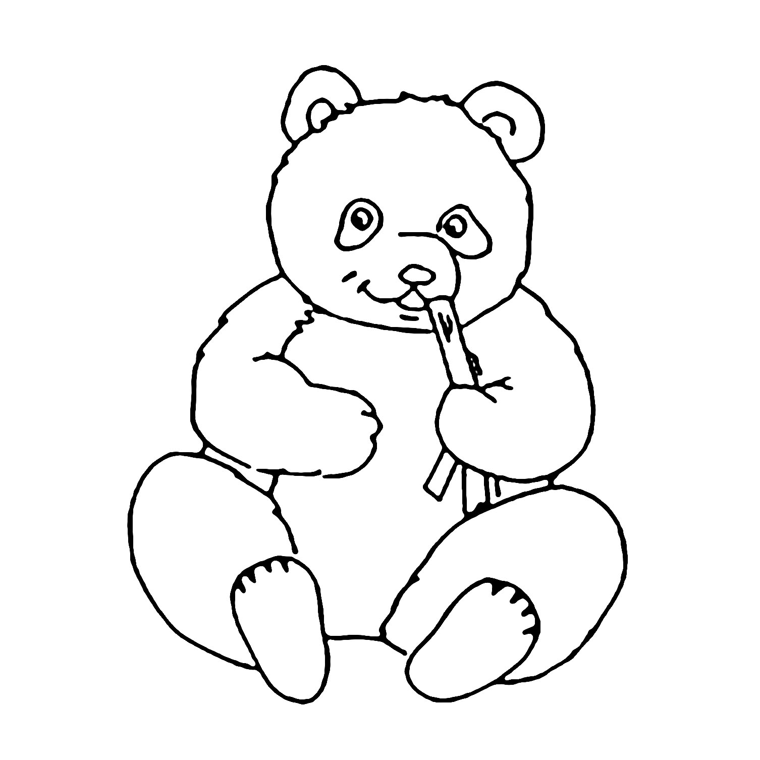 Coloring And Drawing Please Mr Panda Coloring Pages