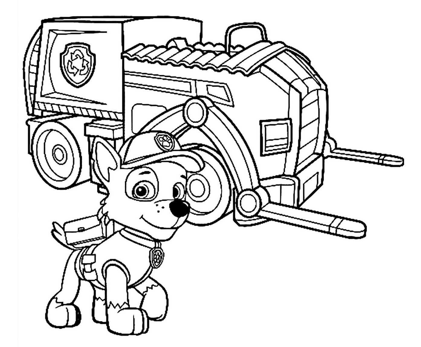 Paw Patrol To Print For Free
